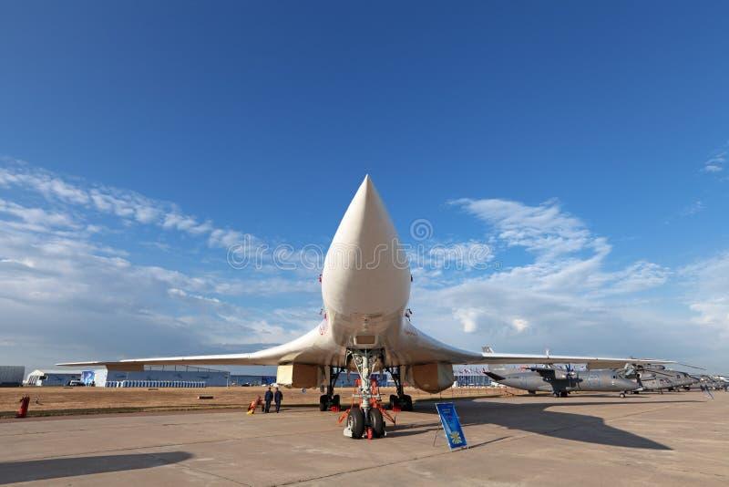 Tupolev Tu-160 (reportażu NATO-WSKI imię: Blackjack) obrazy stock