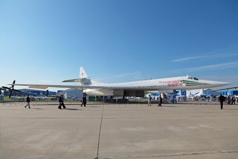 Tupolev Tu-160 fotografia stock