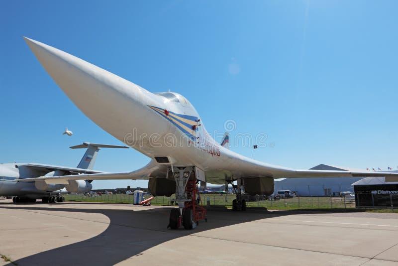 Tupolev Tu-160 obrazy stock