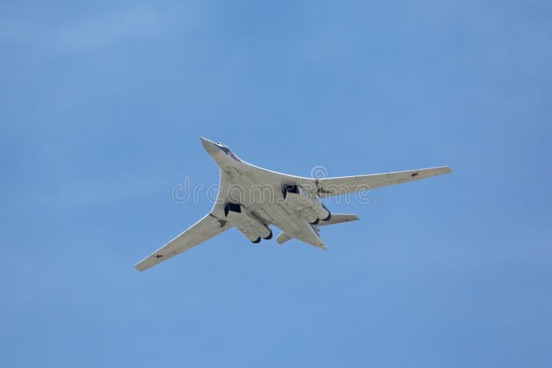 Tupolev Tu-160 (Biały łabędź) zdjęcie royalty free