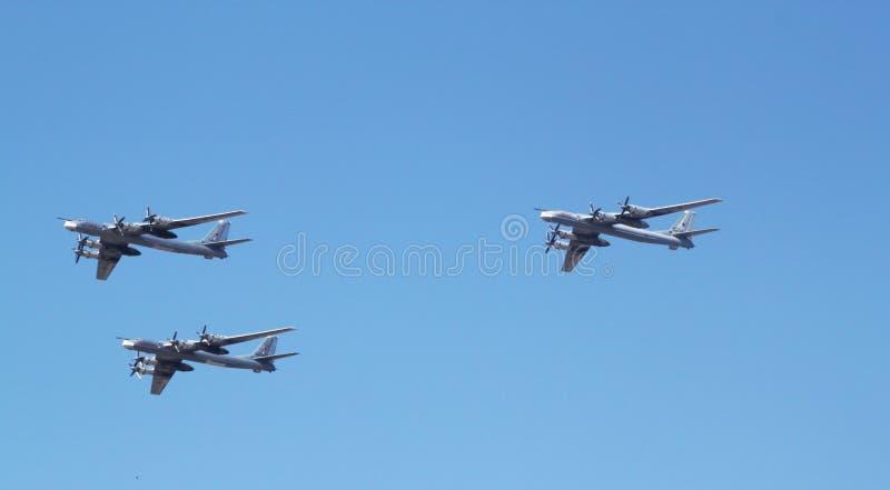 Tupolev Turkije-95 stock fotografie