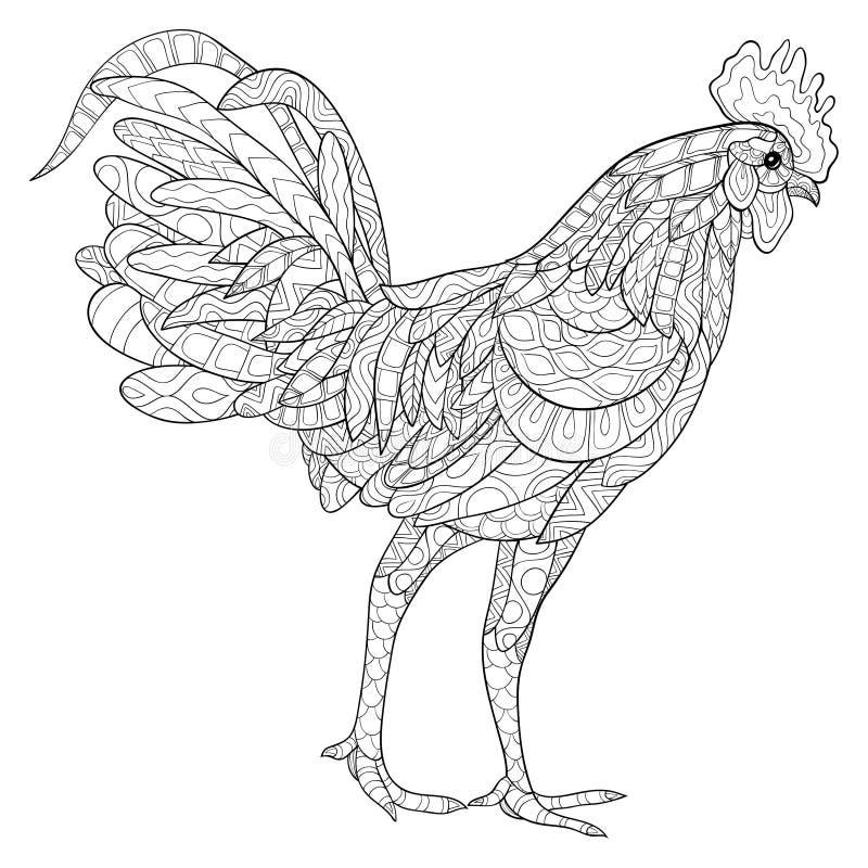 Tupp royaltyfri illustrationer
