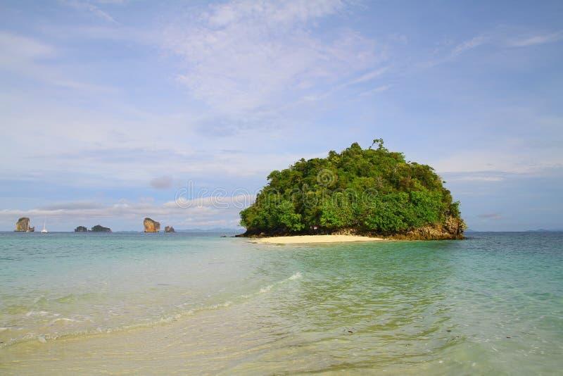 Tupp-Insel - Krabi - Thailand lizenzfreies stockfoto