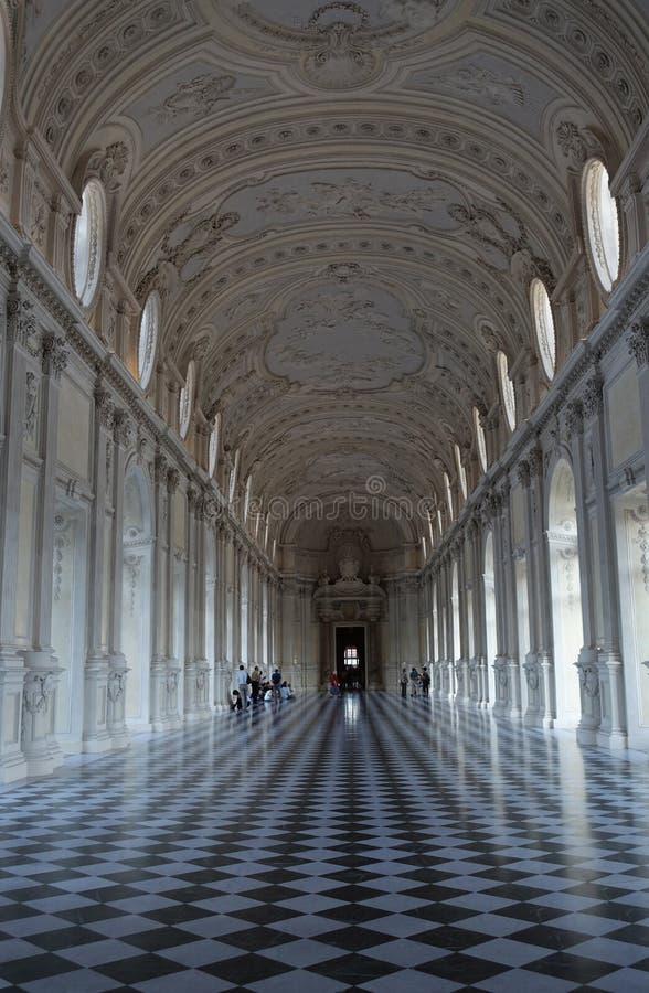 Turín el palacio real de Venaria Reale foto de archivo libre de regalías