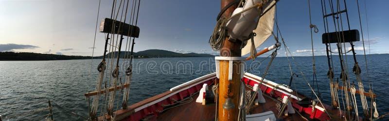 Tur för Rockport tillståndsmaine USA yacht arkivfoto