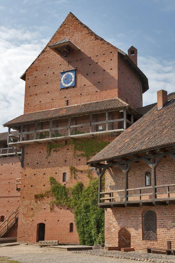 Turaida castle royalty free stock photo