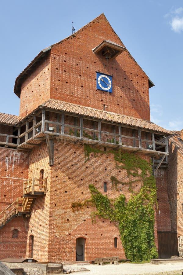 Turaida castle stock images