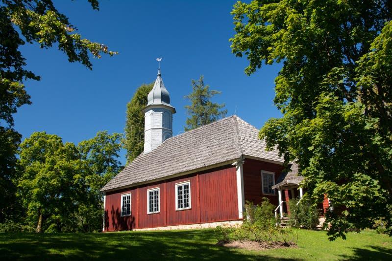 Turaida church. Turaida wooden church - one of the oldest in Latvia