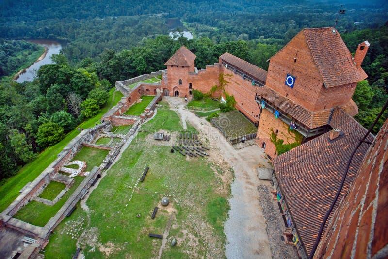 turaida sigulda της Λετονίας κάστρων στοκ φωτογραφία με δικαίωμα ελεύθερης χρήσης