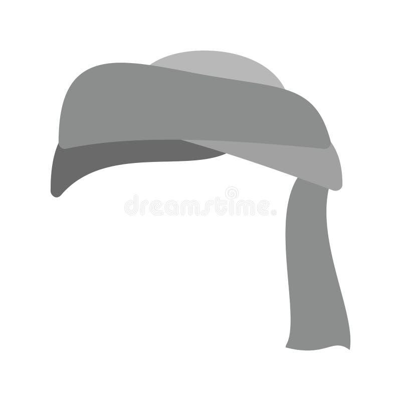 turban ilustração royalty free