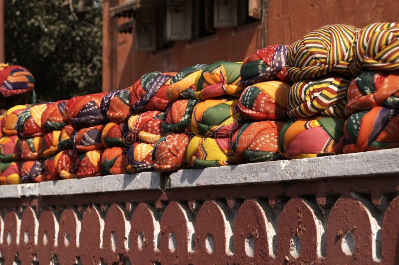 Turbans For Sale royalty free stock images