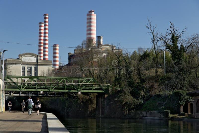 Turbigo, Mailand, Lombardei, Italien 24. M?rz 2019 E stockbilder