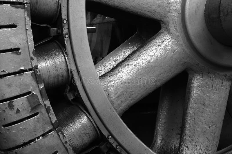 Turbin detalj arkivfoton