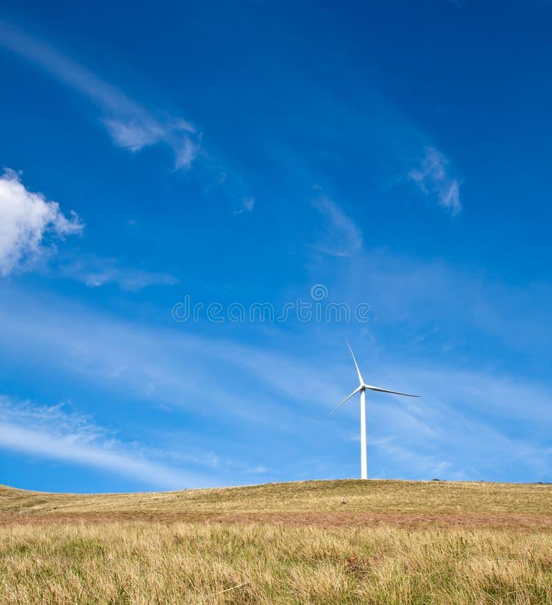 Turbina da torre do vento imagens de stock royalty free