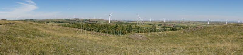 Turbina das energias eólicas imagem de stock royalty free
