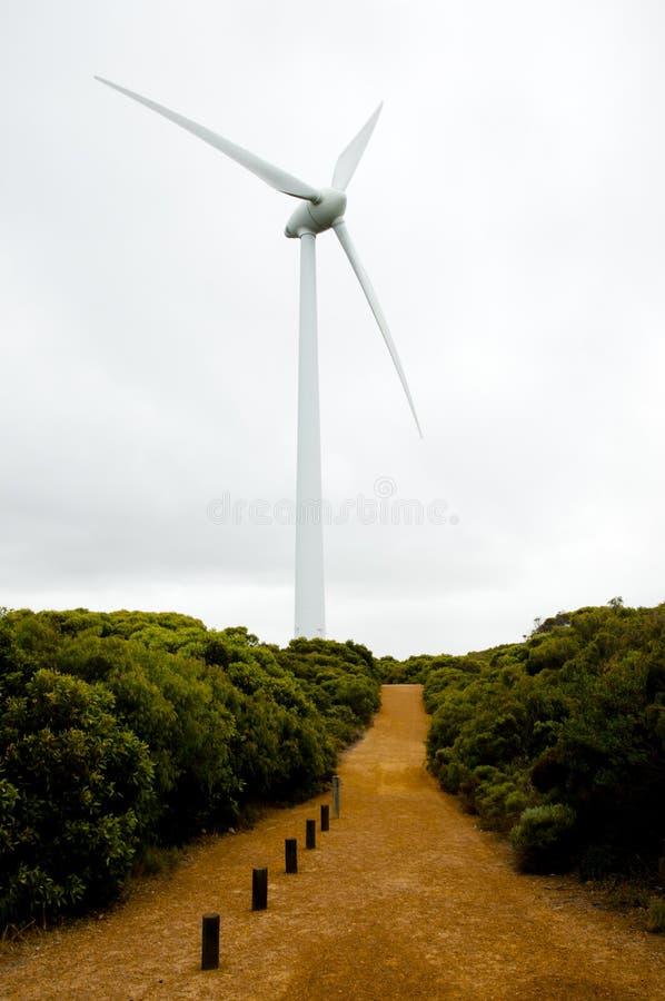 Turbina de viento de Albany imágenes de archivo libres de regalías
