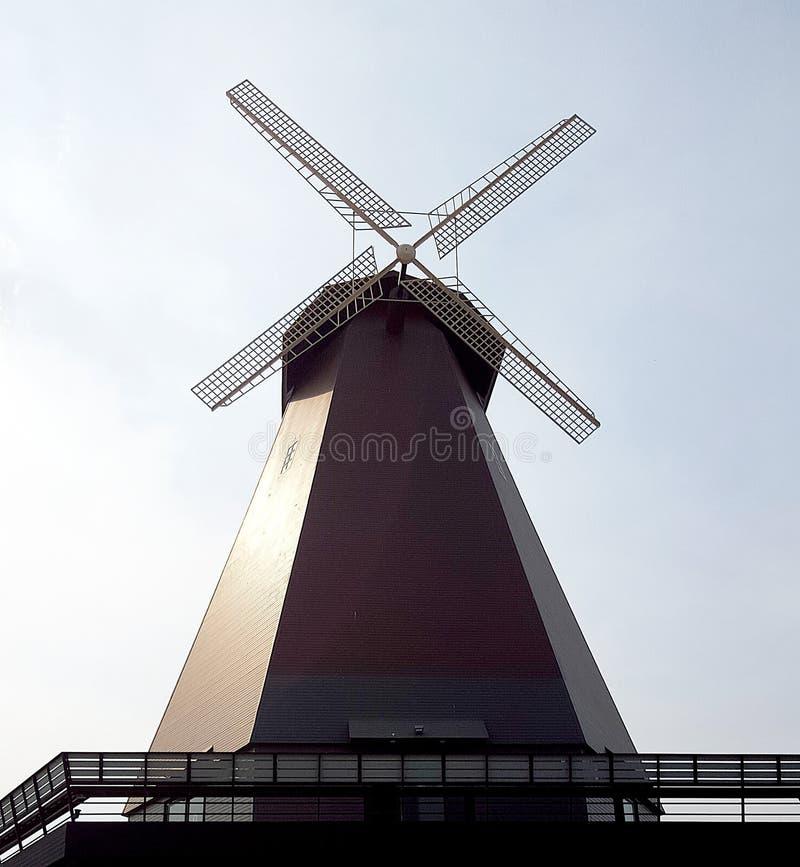 Turbina de viento casera imagen de archivo libre de regalías