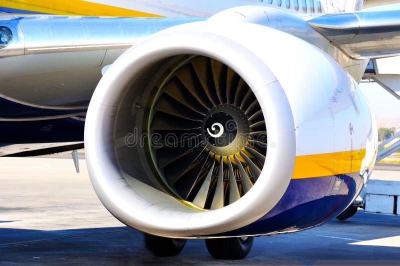 Turbina dei velivoli immagini stock libere da diritti