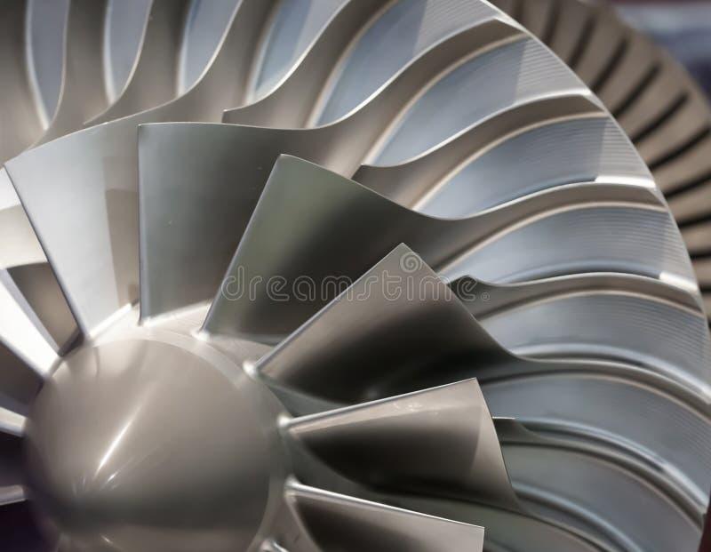 Turbina del motor fotos de archivo