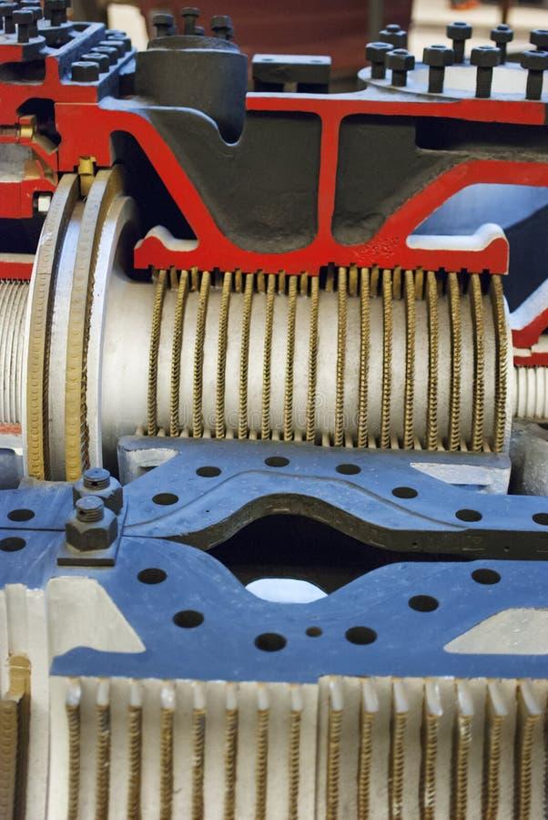 Turbina del ` s de la nave imagen de archivo libre de regalías
