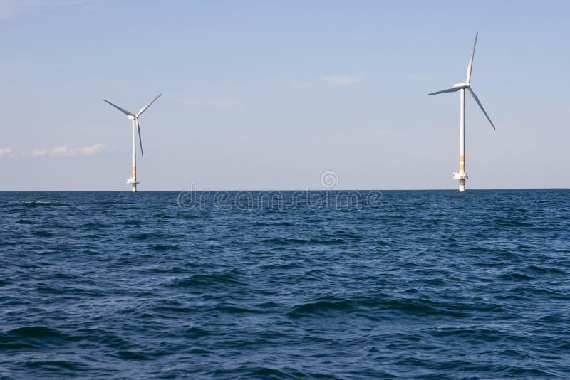 turbina denny wiatr zdjęcie royalty free