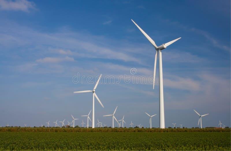 Turbina di vento immagine stock