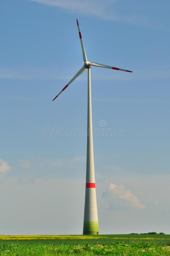 Turbina di vento. fotografia stock libera da diritti
