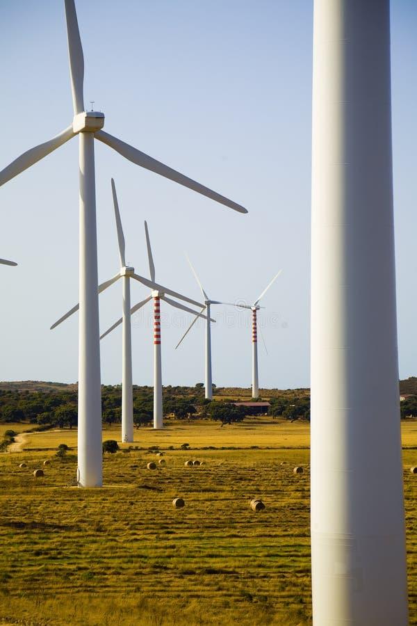 Turbina di vento immagine stock libera da diritti