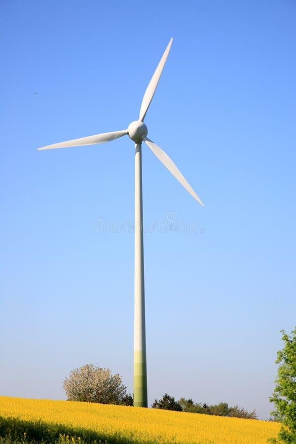Turbina di vento. immagini stock