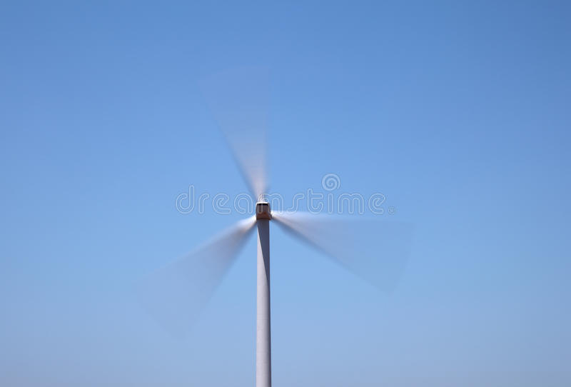Turbina di vento di filatura veloce immagini stock libere da diritti