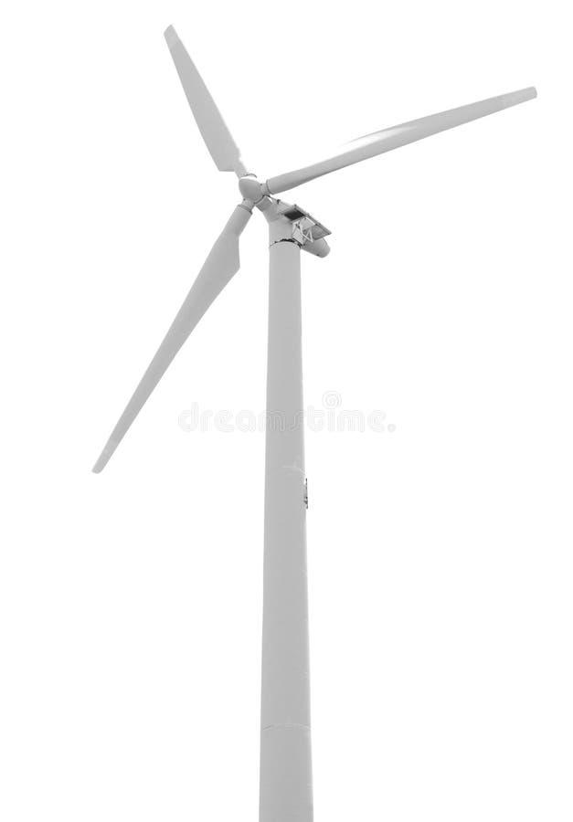 Turbina di vento isolata immagine stock