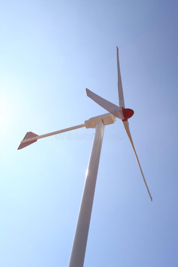 turbina energetyczny neawble ponowny wiatr fotografia stock