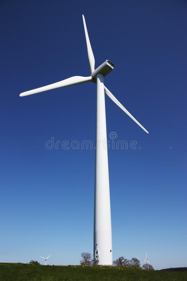 turbina energetyczny podtrzymywalny wiatr obraz royalty free