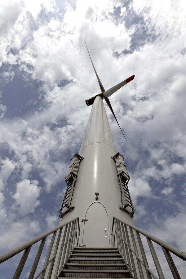 turbina energetyczny wiatr obraz royalty free