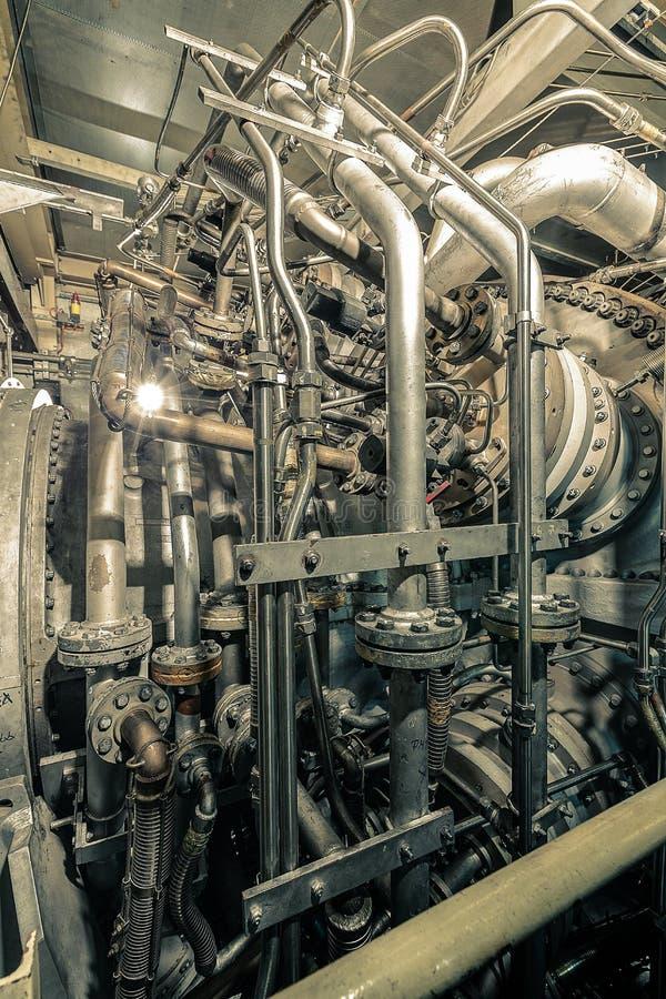 Turbina industrial foto de archivo libre de regalías