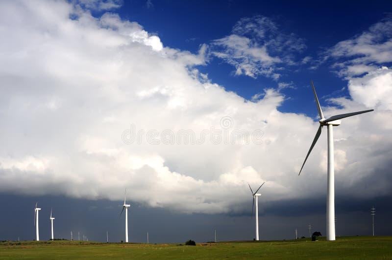 turbina wiatr obraz stock