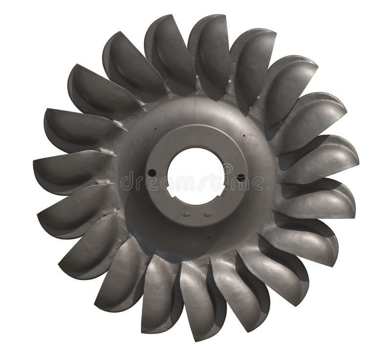 turbina woda fotografia stock