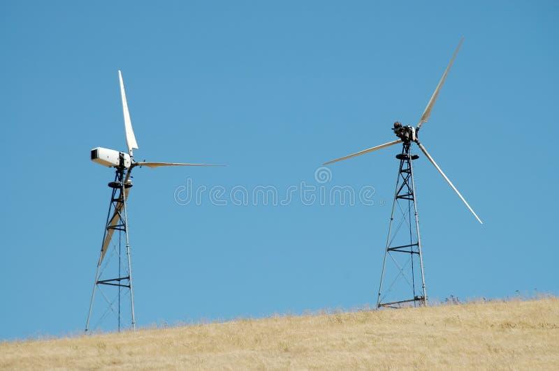 Download Turbinas de viento foto de archivo. Imagen de ecología - 192666