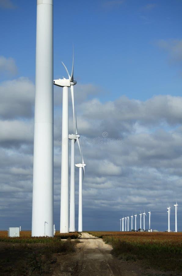 Turbinas de viento 22 foto de archivo libre de regalías