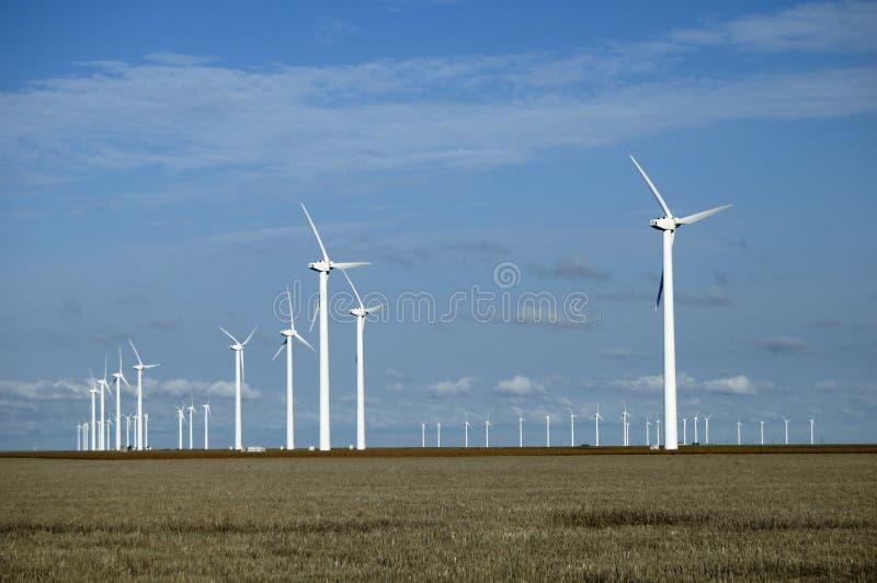 Turbinas de viento 8 fotografía de archivo libre de regalías