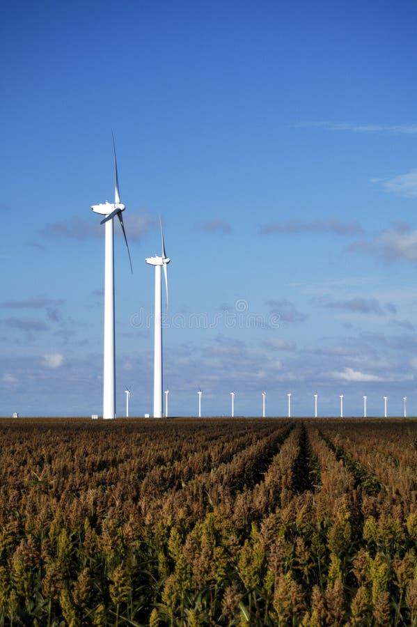 Turbinas de viento 9 imagen de archivo