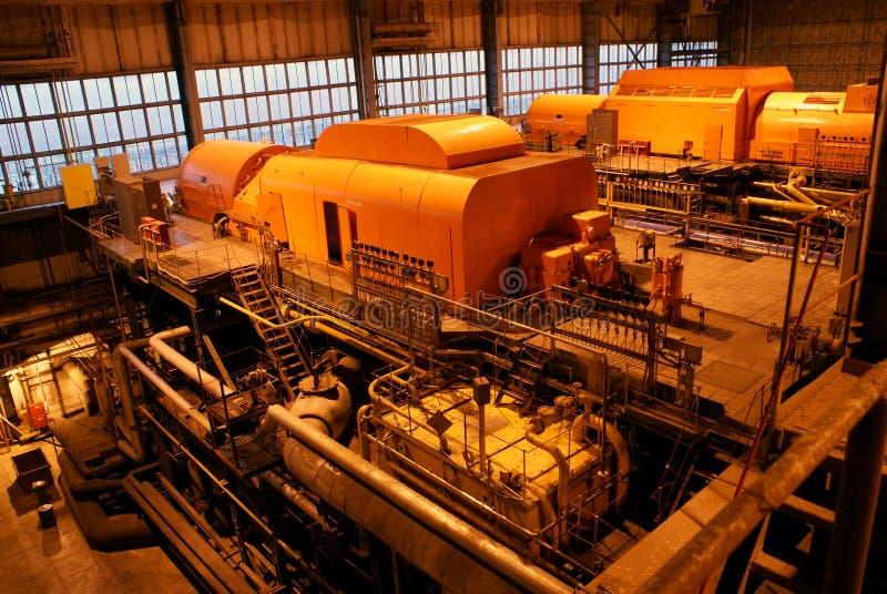 Turbine à vapeur  image libre de droits