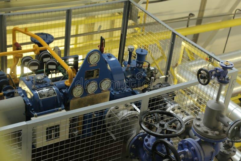 Turbine à vapeur photographie stock