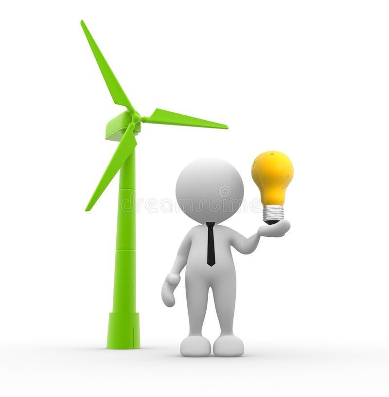 Turbine royalty-vrije illustratie
