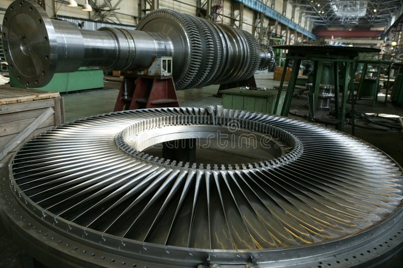 Download Turbine 3 stock image. Image of plant, mill, turbine, gear - 116795