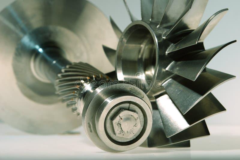 Turbine conçue par précision photo libre de droits