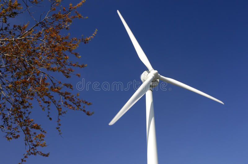 Turbine de vent photo libre de droits