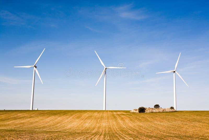 Turbine de vent images stock