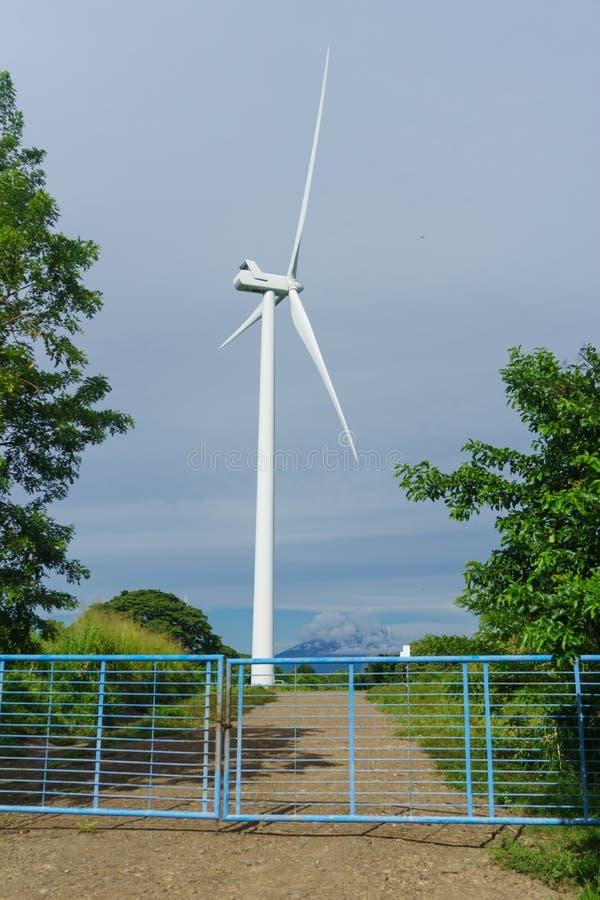 Turbine de vent du Nicaragua photographie stock libre de droits