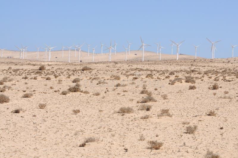 Turbine di vento per energia rinnovabile fotografie stock